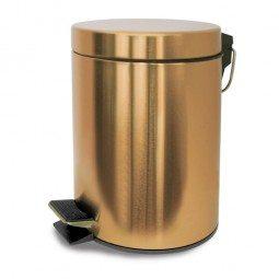 Vivi homewares category geelong brush for Gold bathroom bin